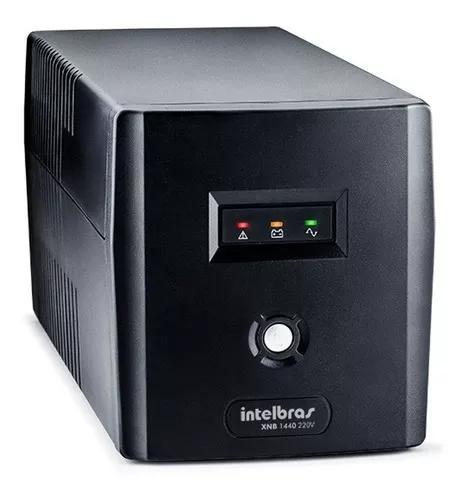 Nobreak intelbras xnb 144 va 220v cftv segurança tf