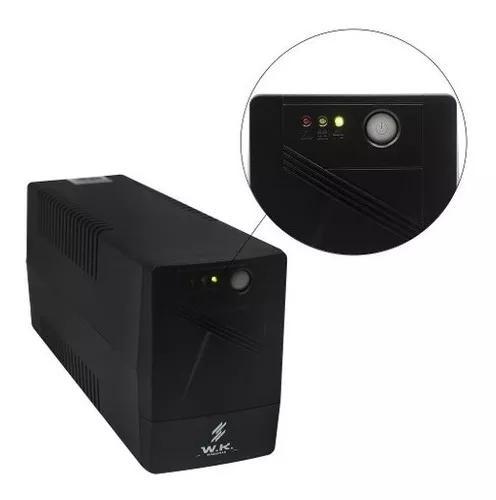 Nobreak wk 600/650 va 110v- pc videogame drv câmera