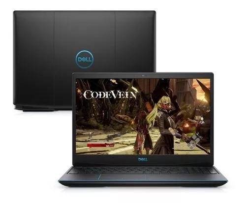 Notebook gamer dell g3 gtx 1650 i5 ssd 128 linux lacrado nf