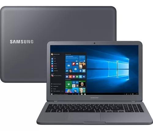 Notebook samsung e30 i3 4gb 1tb tela 15.6 titanium vitrine 2
