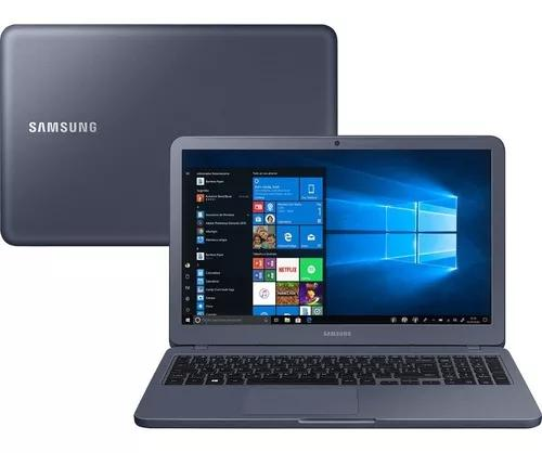 Notebook samsung essentials e20 intel 4gb 500gbled 15,6''