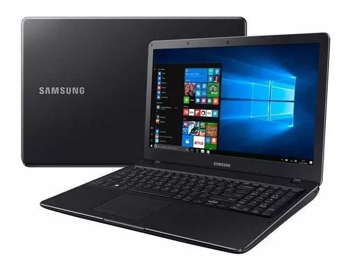 Notebook samsung essentials e34 i3 1tb/4gb preto vitrine 1