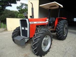 Trator massey ferguson modelo 275 ano 1991 4x4 direção