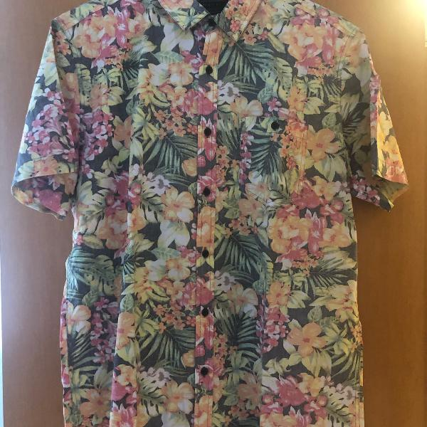 Blusa estampada masculina florida xl 2men