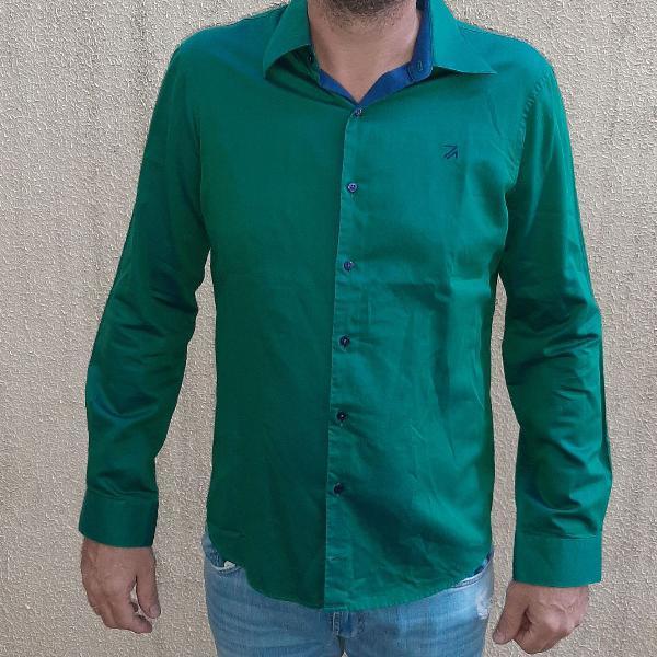 Camisa verde ricardo almeida