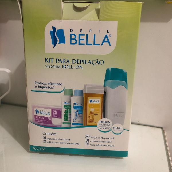 Kit para depilação