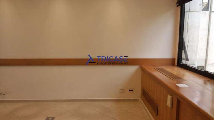 100 m² - sala comercial - itaim bibi - pronta para uso