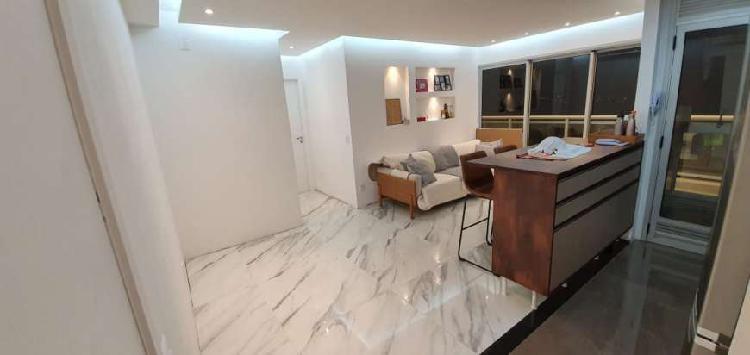 Apartamento com suíte master ampliada vila cruzeiro ! luxo