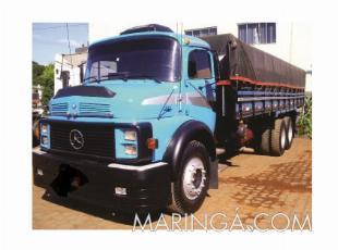 Caminhão mb 1313 ano 1972 truck turbo reduzido