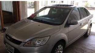 Focus ghia sedan prata 2009 automático c/ teto solar