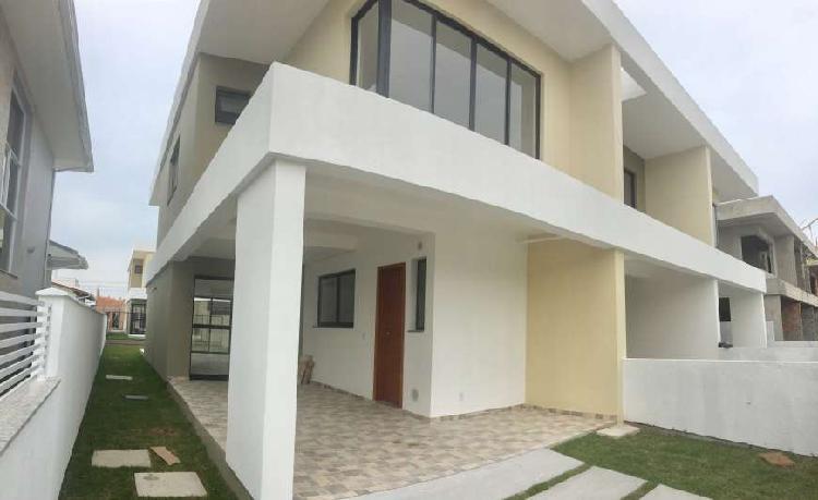 Ltima unidade - excelente e ampla casa sobrado com 3