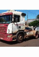 Scania g380 6x2 3 eixos p bitrem; ls; vanderleia; carreta