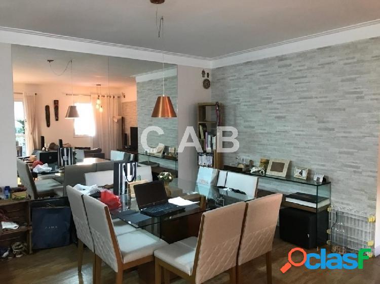 Apartamento semi mobiliado para locação alpha style- 2 suites