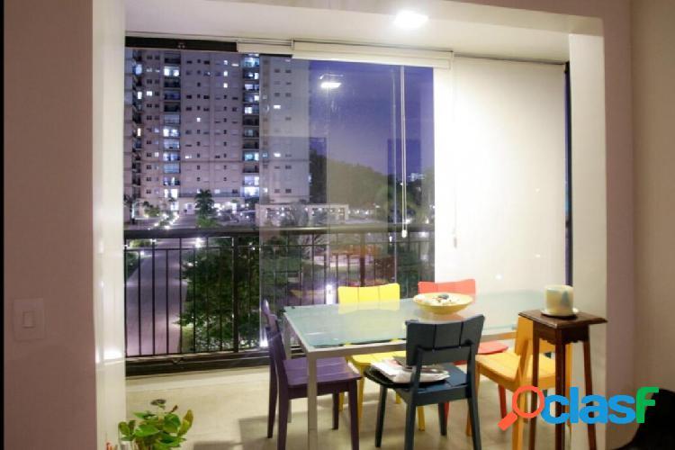 Apartamento de 94m² com varanda gourmet no alto da mata, barueri! confira!
