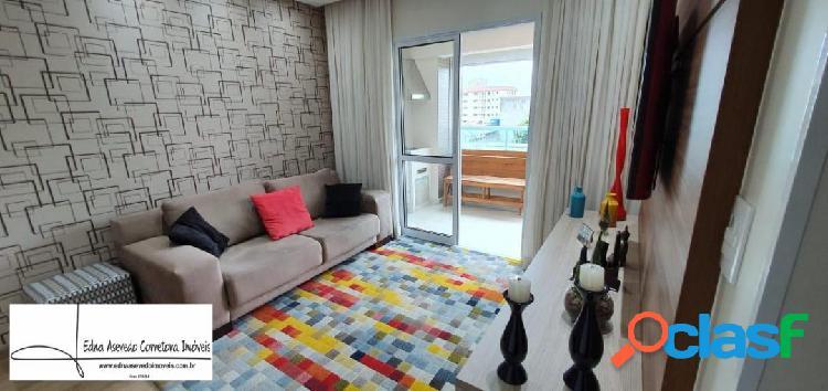Apto.66 m² - 2 dorms. 2 vagas - terraço gourmet - sta. maria - são caetano