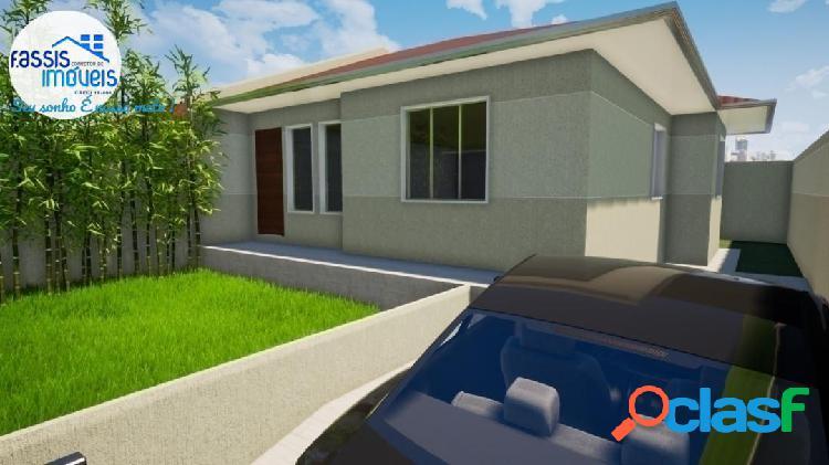 Casas novas em fase e construção financie