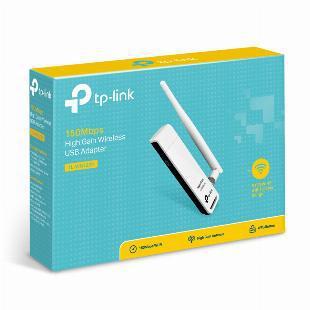 Adaptador usb wi-fi tp-link wn-722n com antena