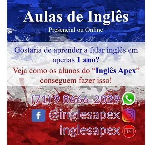 Aulas de inglês - online ou presencial