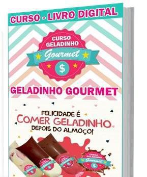 Curso online com 80 receitas de geladinho gourmet lucrativo