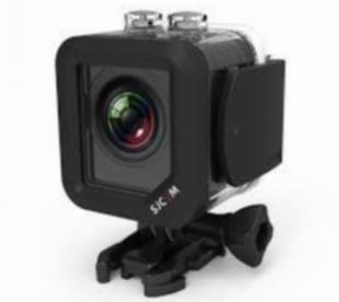 Camera de ação esportiva sjcam m10 mini 1.5 12mp 1080p