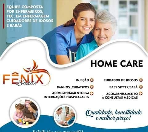 Cuidador de idosos, enfermeiros e babás
