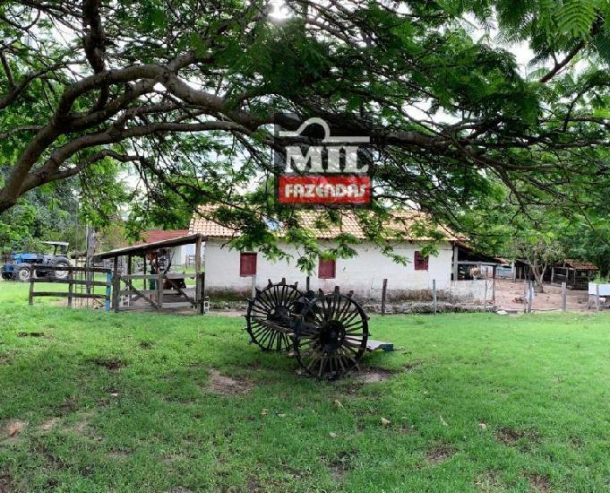 Fazenda para pecuária em araguapaz são 92 alqueires (445