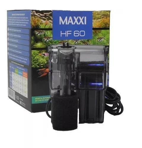 Filtro externo maxxi hf-60 l/h para aquários até 20 litros