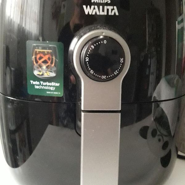 Fritadeira elétrica airfryer phillips walita