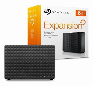 "Hd externo de 8tb seagate expansion 3.5"" usb 3.0 -"