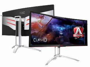Monitor gamer entusiasta aoc (36429-6) ag352ucg 35 led