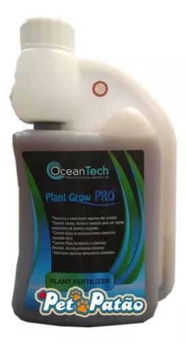 Plant grow pro 500ml fertilizante ocean tech p/ aquarios