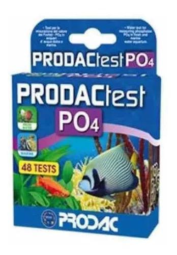 Prodac - teste fosfato (po4) 48 testes - grátis 1 prime