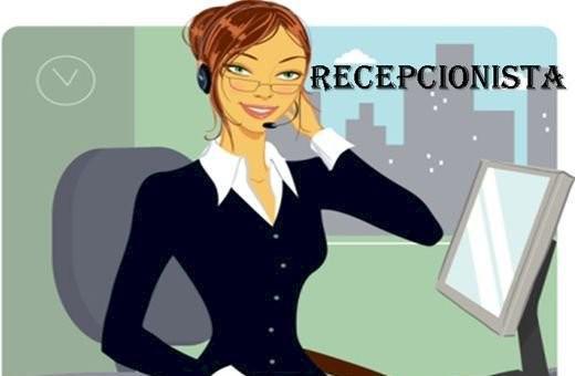Recepcionista e auxiliar administrativo