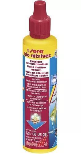 Sera bio nitrivec 50ml - ativador biológico