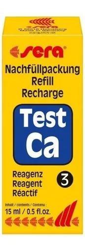 Sera reagente numero 3 15ml do teste calcio ca,só reagente