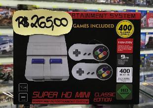 Super hd mini classic edition 400 jogos