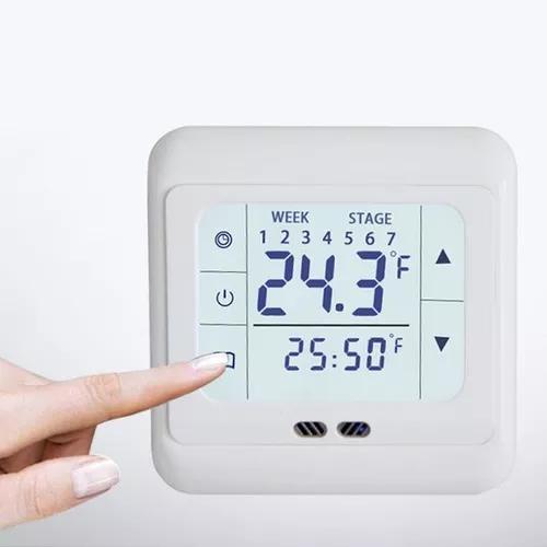 Termostato digital para piso aquecido novo