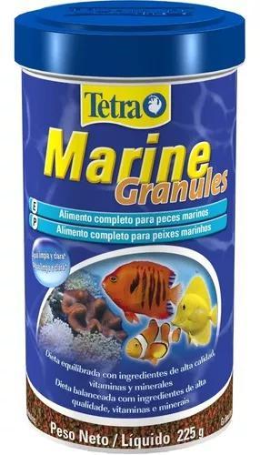 Tetra marine granules 500ml 225g - para peixes marnhos