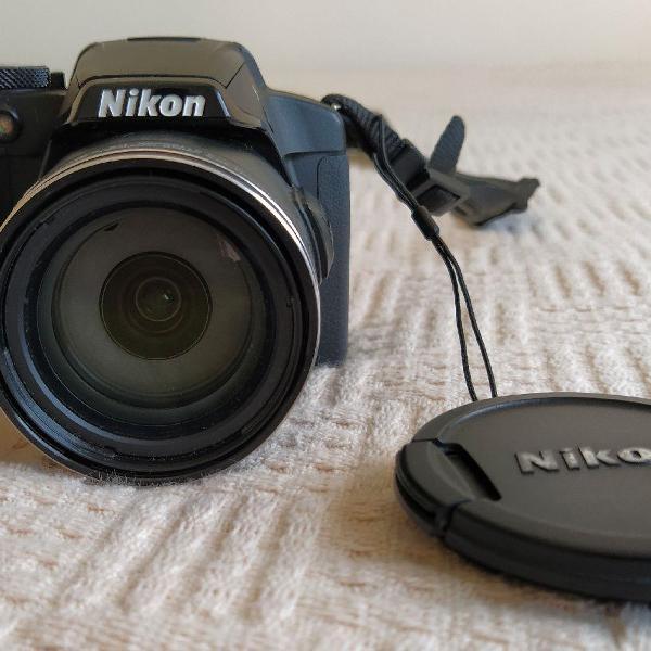 Câmera fotográfica nikon coolpix p510 + estojo
