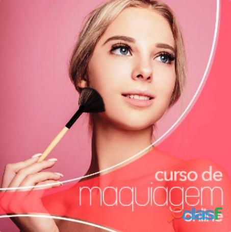 Curso de maquiagem online   acesso vitalício