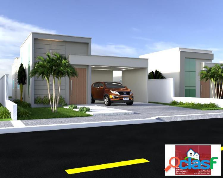 Vende-se uma linda casa no condomínio eco ville (em construção)