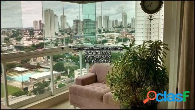 Alto padrão no st bueno ! enfrente a praça do ipê! 3 suites ! 156 m² !