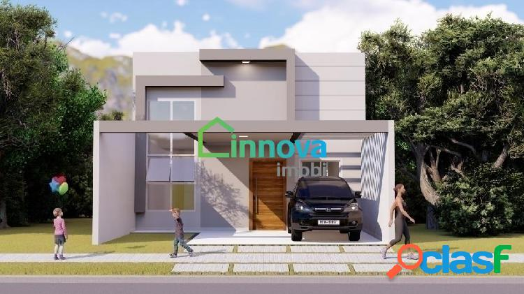 Casa térrea, condomínio, com 3 quartos, 105m², à venda em indaiatuba!