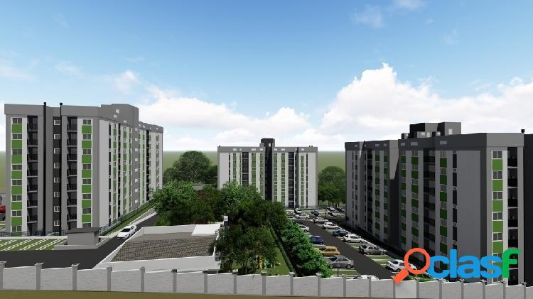 Apartamento - recanto verde residencial com 2 dormitórios, 58m² total