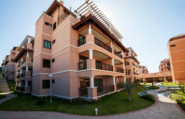 Apartamento duplex beverly hills no porto das dunas para o