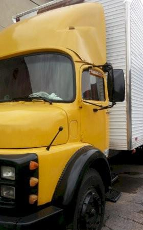 Caminhão mercedes benz 1113 ano 1979 baú trucado motor 352