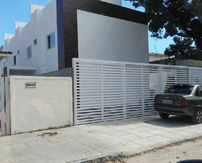 Casa caiada casa nova triplex em prive 3 qts.garagem