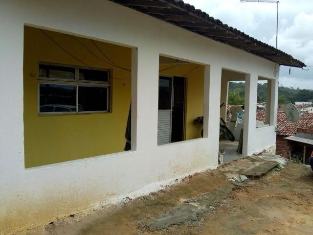 Casa + terreno 30mx15m no centro de paulista