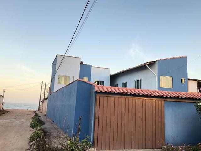 Casa duplex mobiliada a 100m da praia. anual ou temporada