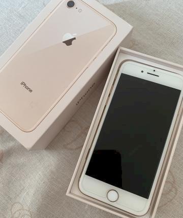 Celular iphone 8 64 gb gold usado em perfeito estado